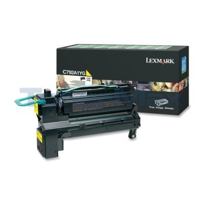 LEXMARK C792 PRINT CART YELLOW RP 6K